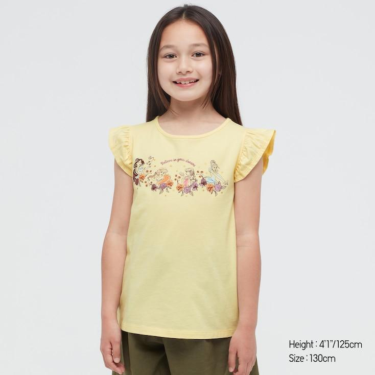 Girls Disney Heroines Ut (Short-Sleeve Graphic T-Shirt) (Online Exclusive), Yellow, Large