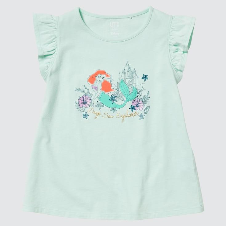 Girls Disney Heroines Ut (Short-Sleeve Graphic T-Shirt) (Online Exclusive), Light Green, Large