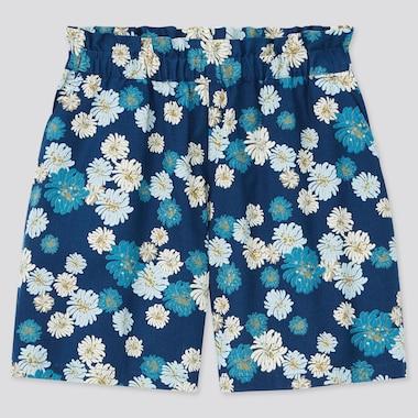 Girls Paul & Joe Shorts, Blue, Medium
