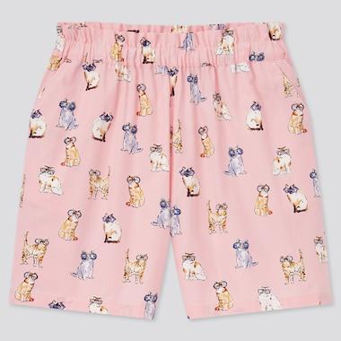 Girls Paul & Joe Shorts, Pink, Medium