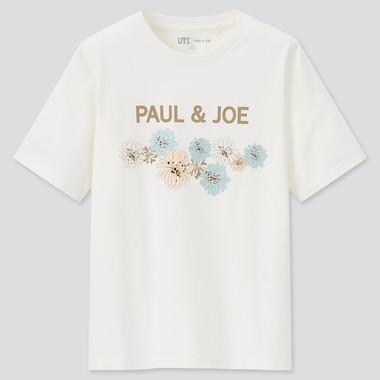Women Paul & Joe Ut (Short-Sleeve Graphic T-Shirt), Off White, Medium