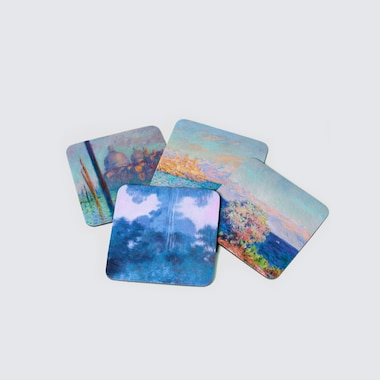 Coaster Set (Monet) (Set Of 4), Other, Medium