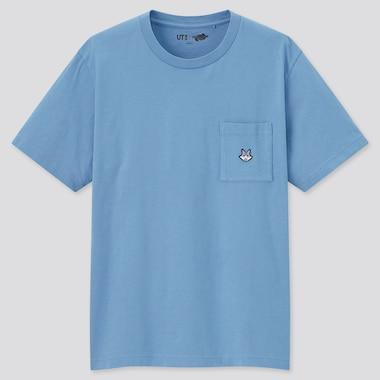 Monster Hunter Rise Ut (Short-Sleeve Graphic T-Shirt), Blue, Medium