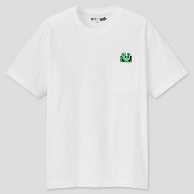 Monster Hunter Rise Ut (Short-Sleeve Graphic T-Shirt), White, Medium