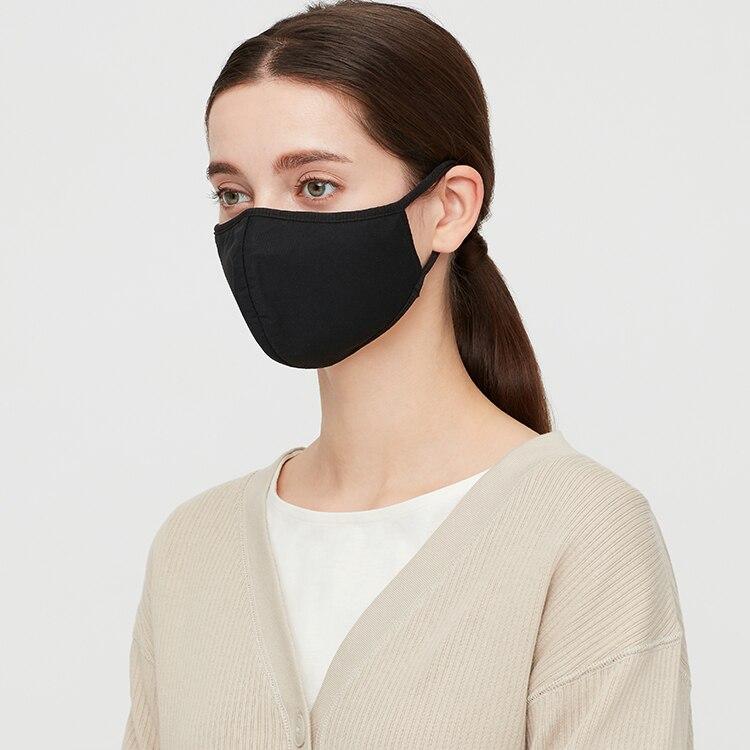 Airism Mask Black Model image
