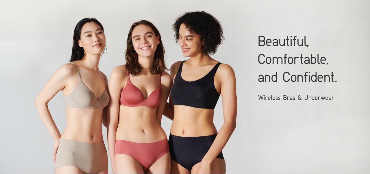 Wireless Bras & Underwear