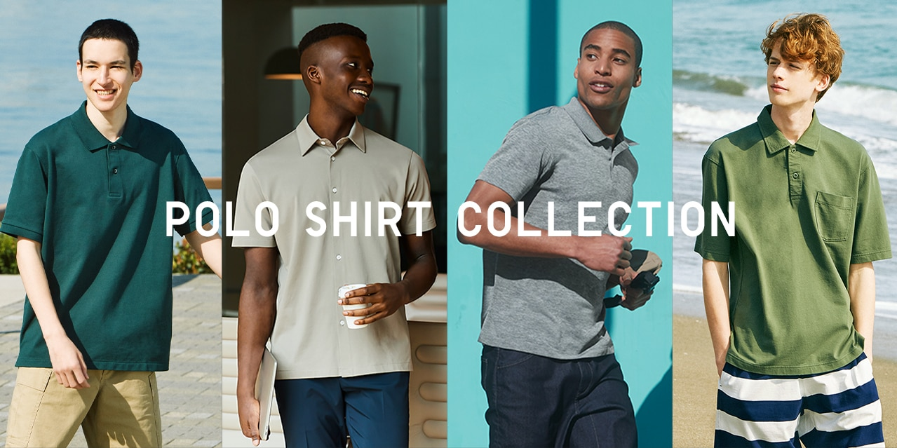 Polo Shirt Collection page