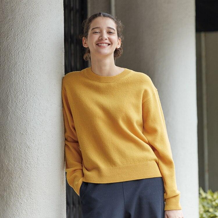 Premium Lambswool Crew Neck Sweater image 1