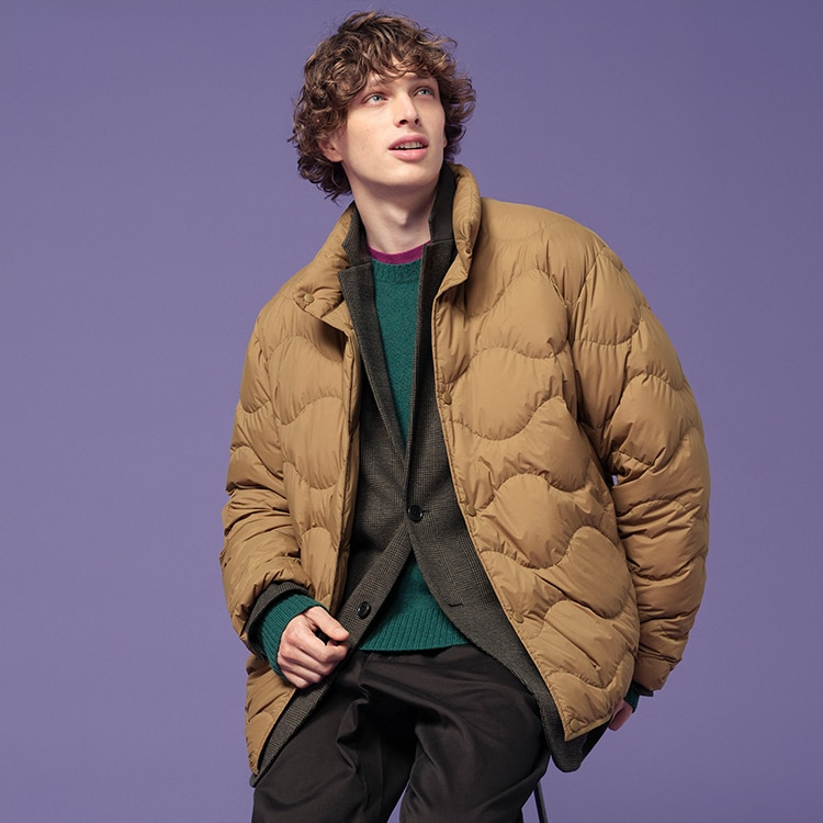 ULTRA LIGHT DOWN WAVE QUILTED JACKET image 1