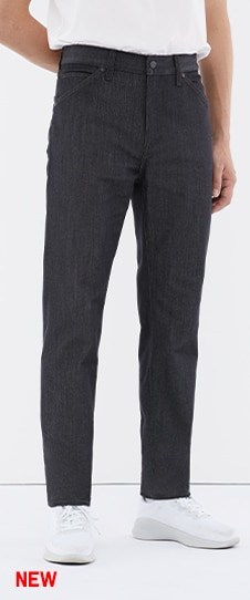 Tech Denim-Like Slim-Fit Jeans