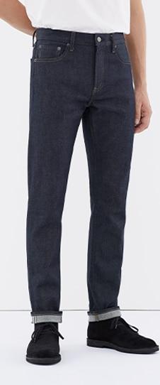 Stretch Selvedge Slim-Fit Jeans