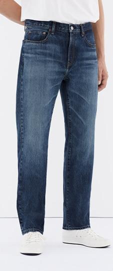 Regular-Fit Straight Jeans