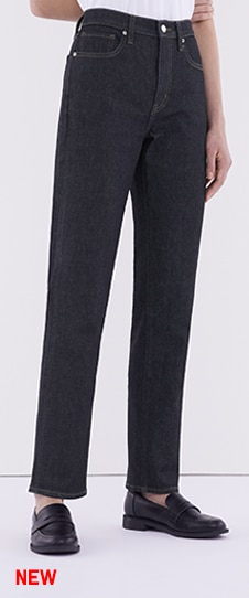 Slim Fit Straight High Rise Jeans