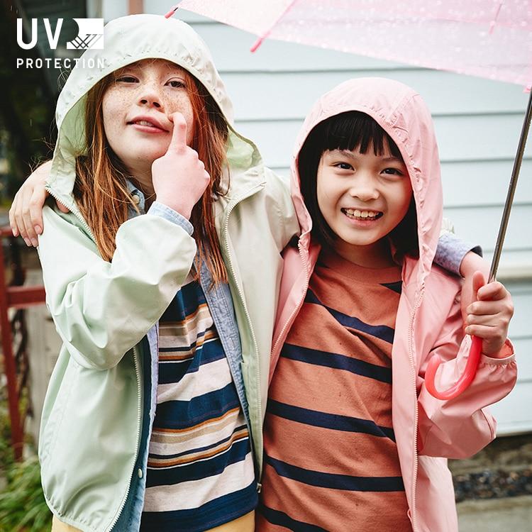 UV Protection Pocketable Parka image 1