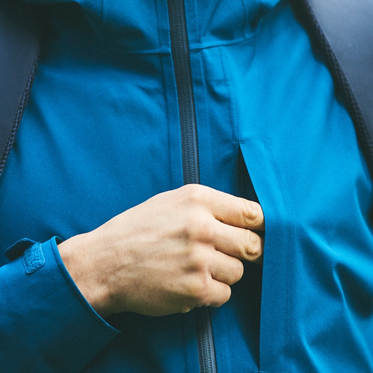 Functional chest pocket