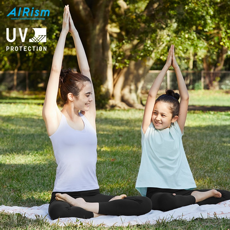 Matching Looks for a Family Yoga Session image 1