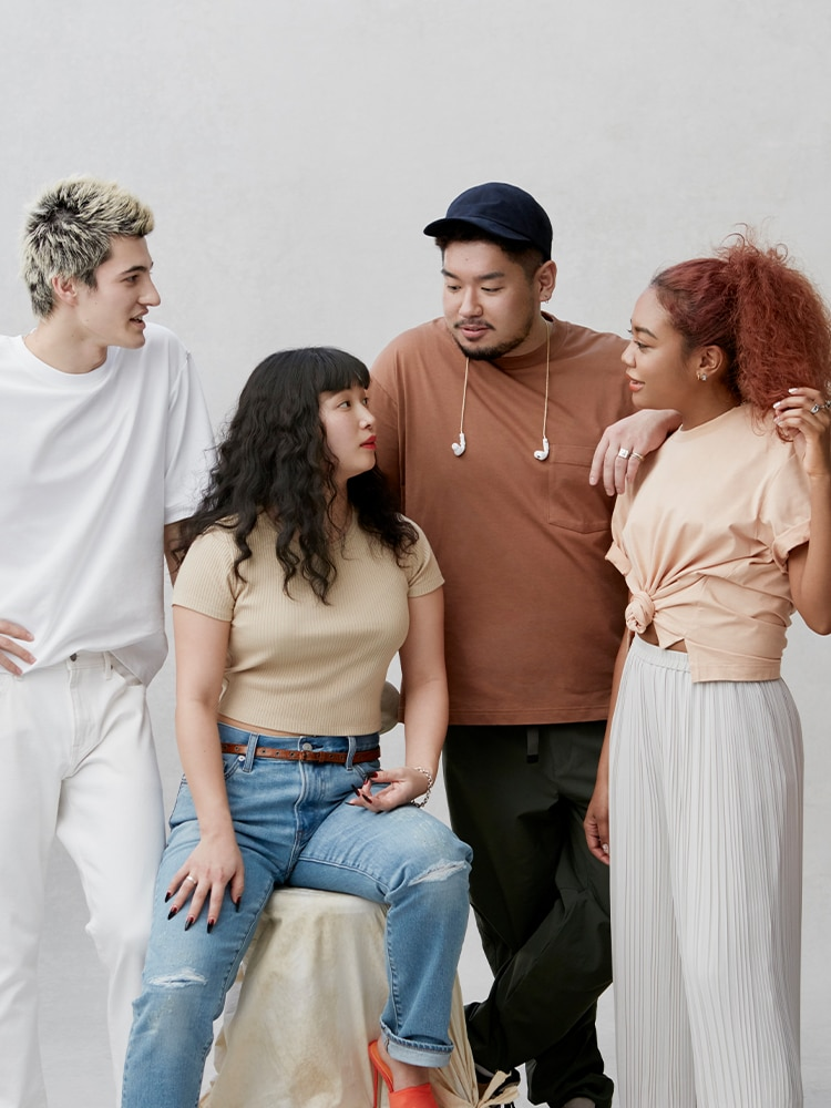 image of group of people wearing different types of t-shirts cover image