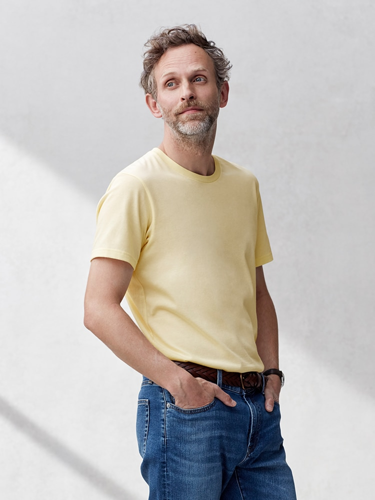 Men's Dry Color Crew Neck Short-Sleeve T-Shirt image 1