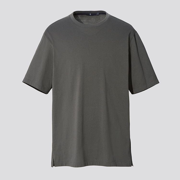 +J Supima© Cotton Relaxed-Fit Crew Neck T-Shirt