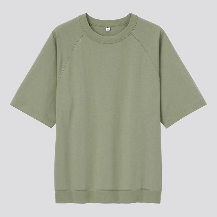 Raglan Sleeve Half-Sleeve T-Shirt