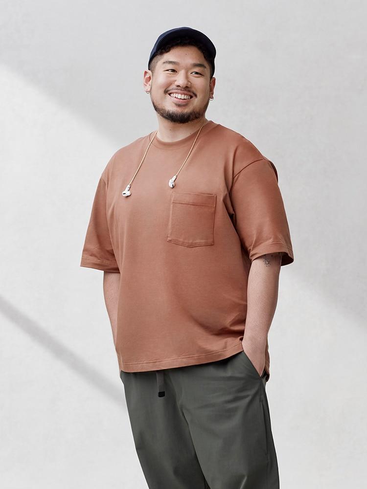 U Oversized Crew Neck T-Shirt image 1