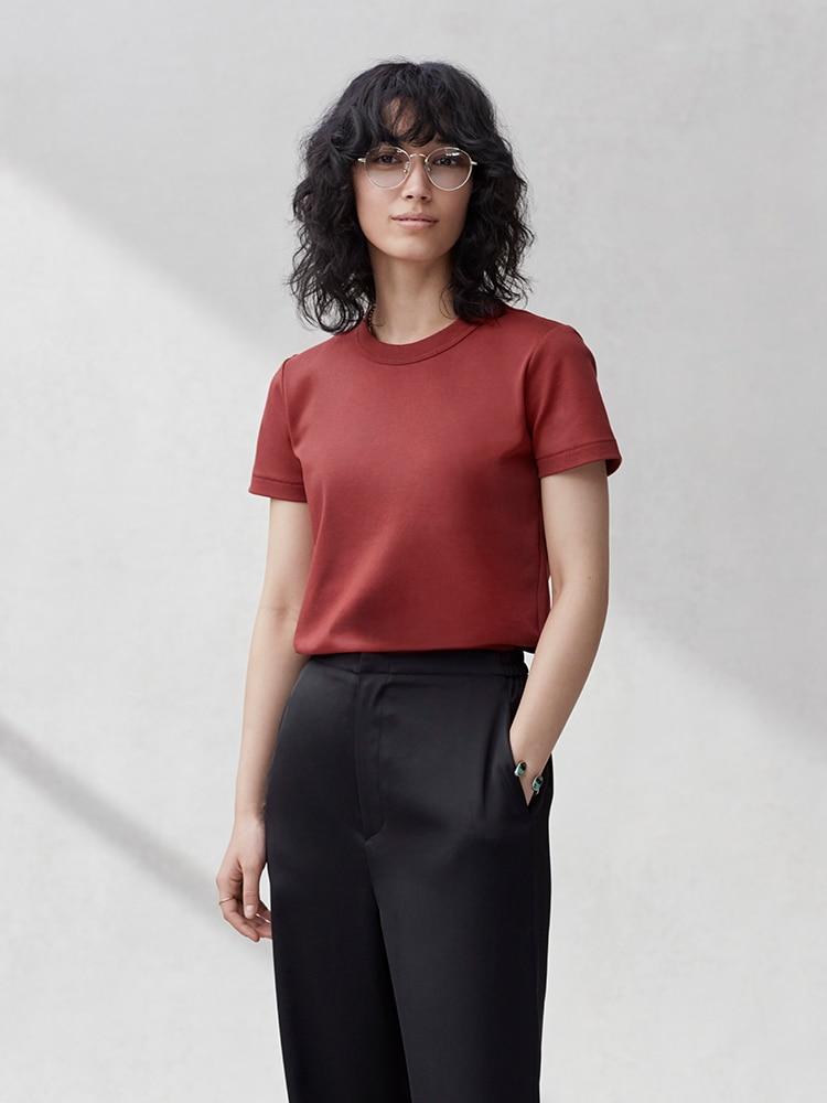 Women U Crew Neck Short-Sleeve T-Shirt image 1