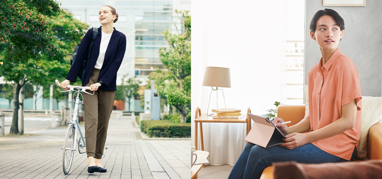 images of women in workwear cover image