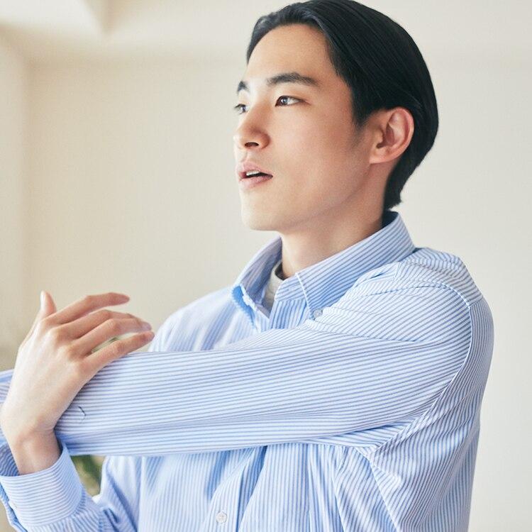 Image of stretching man function image