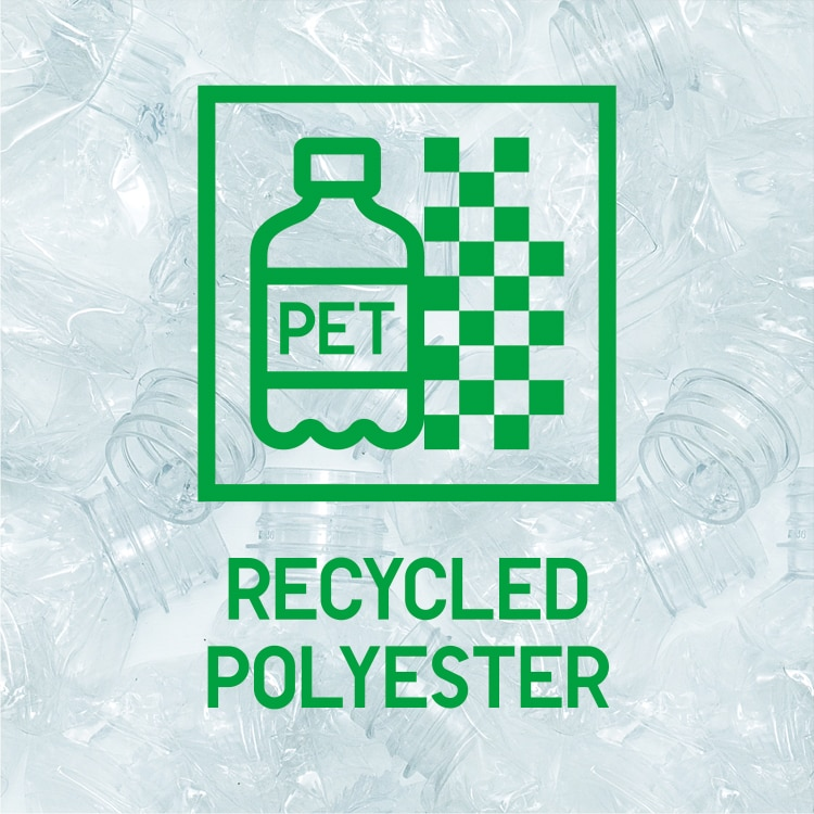 Sustainable fleece made from recycled materials