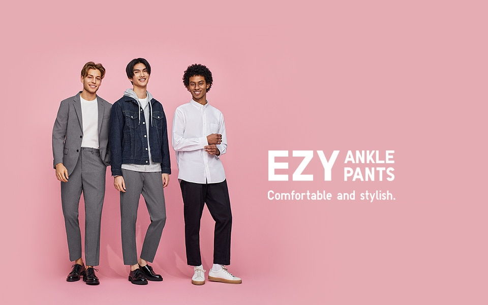 EZY ANKLE PANTS Comfortable and stylish.