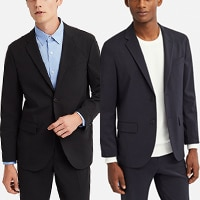 Wear as a suit with a matching jacket