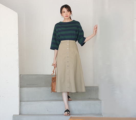 cb33f3320f20f Women's Skirts: Midis & Maxis | UNIQLO US