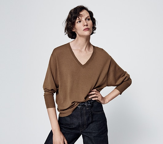 Women's sweaters and cardigans