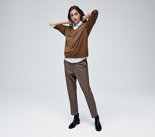 0197d8b4d4125 Women's Pants: Casual, Dress, Active & More | UNIQLO US