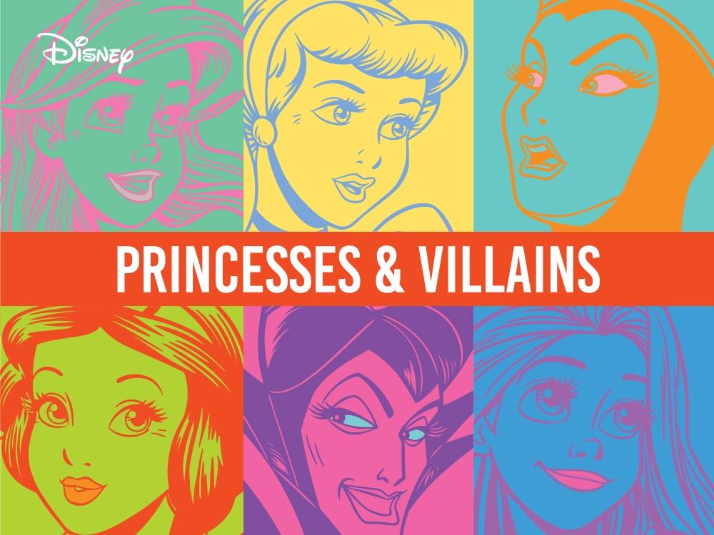 Disney_Princesses_and_Villains Main Image