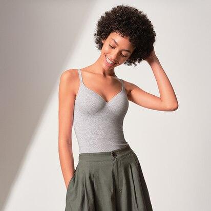 Cotton + Fashion Bra Tops