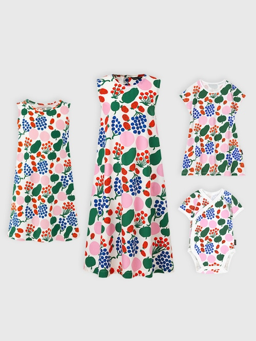 model image of marimekko dress matching