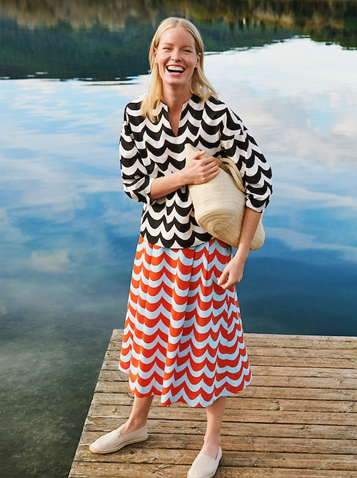 model image of marimekko women shop the look 1