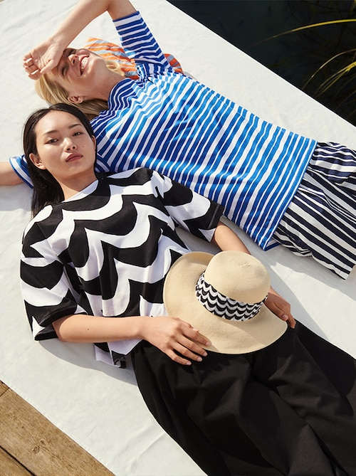 model image of marimekko women shop the look 4