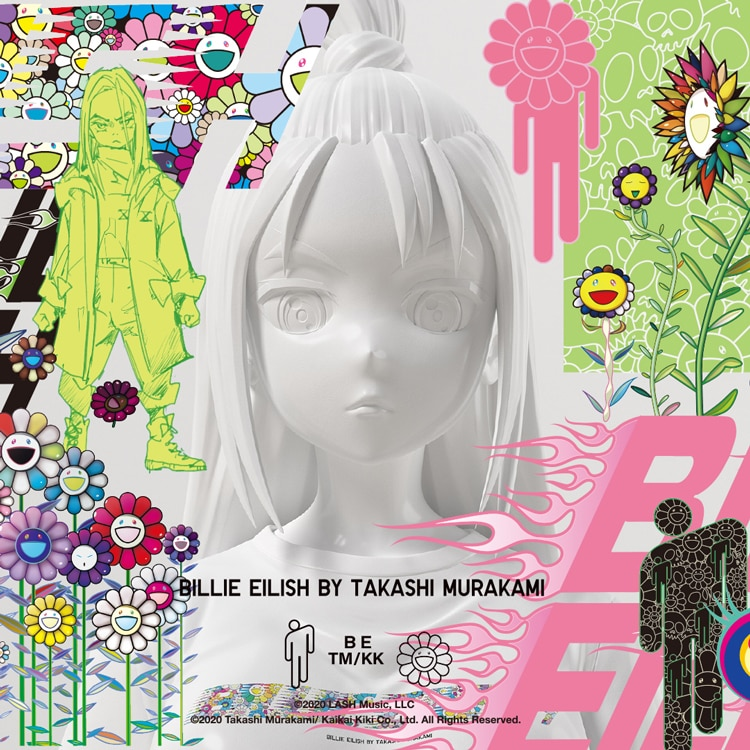 Billie_Eilish_x_Takashi_Murakami_ UT Tile