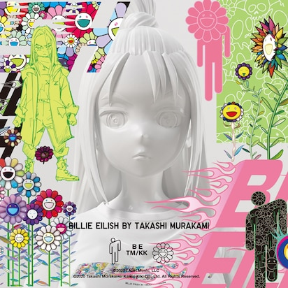 Billie Eilish x Takashi Murakami