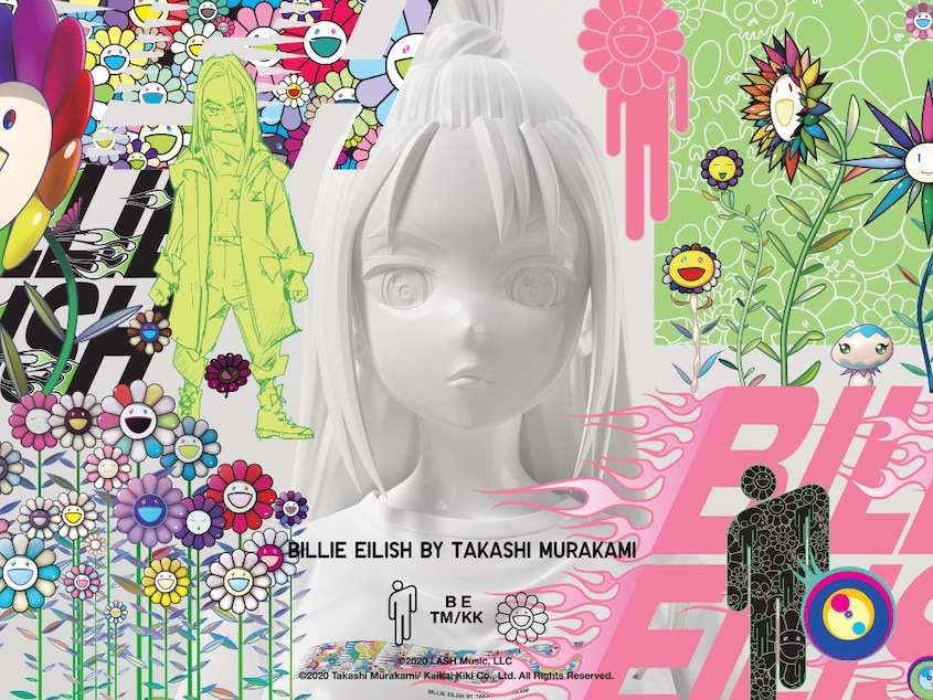 Billie Eilish By Takashi Murakami