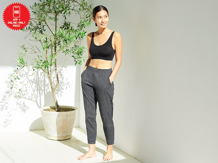 women ultra stretch ankle-length active pants