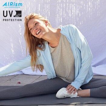 AIRism UV Protection Mesh Hoodies