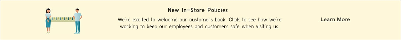 new in-store policy to protect our communicty