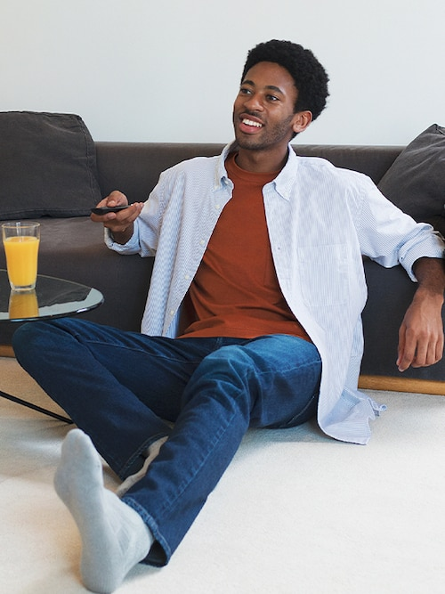 model image of loungewear 9