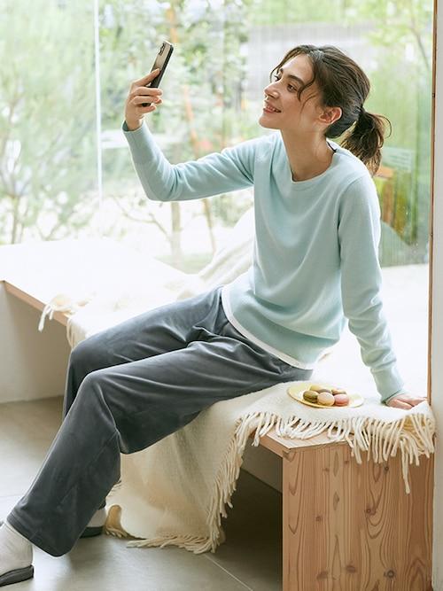model image of loungewear 3