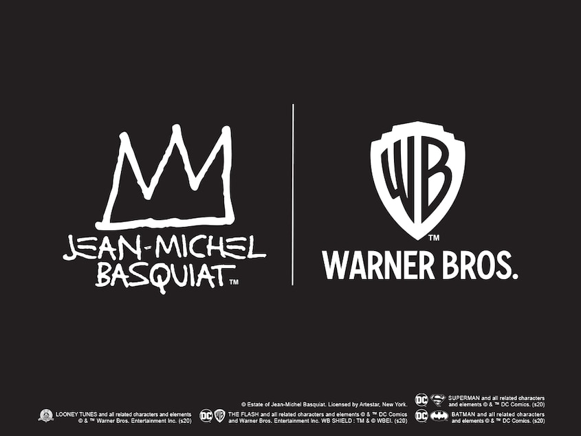 Jean-Michel Basquiat x Warner Bros.