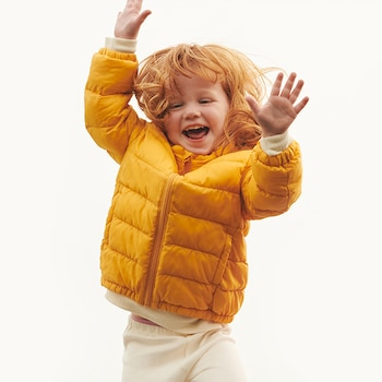 Baby Light Warm Padded Parkas