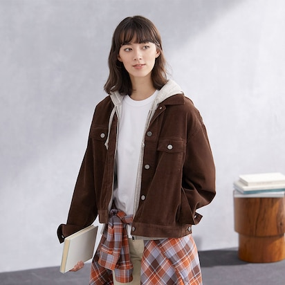 Corduroy Relaxed Jackets